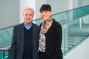 René Rozon et Nathalie Bondil. Photo, Jean-François Brière