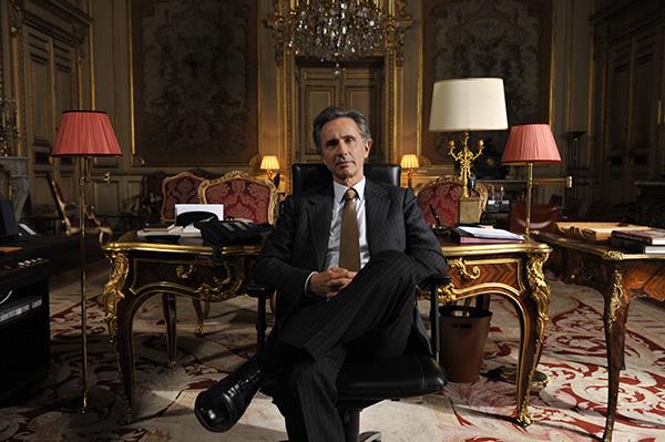 Thierry Lhermitte dans Quai d'Orsay (2013) de Bertrand Tavernier