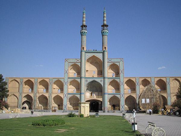 Le monument Amir, Yazd