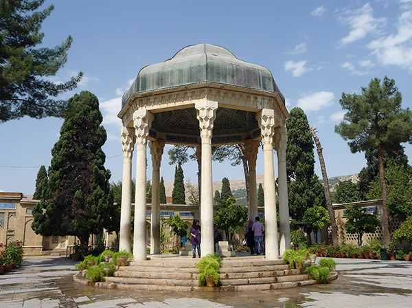 Le mausolée du poète Hafez. Photo, Ondřej-Žváček