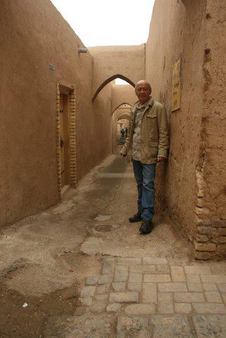 Marc Lincourt lors d'un séjour en Iran
