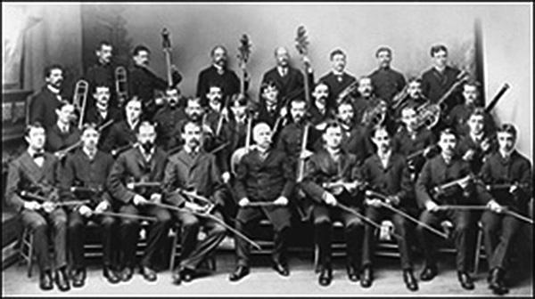 L'orchestre symphonique de Québec en 1902