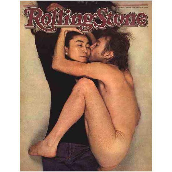 Cette photo a été prise le matin du 8 décembre 1980 par Annie Leibovitz's