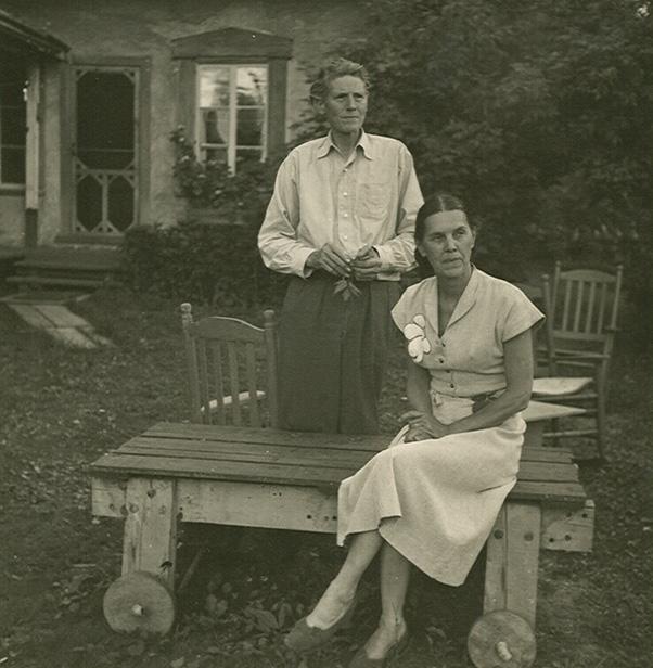 Richard Richard avec sa conjointe. Source Esther Pelletier