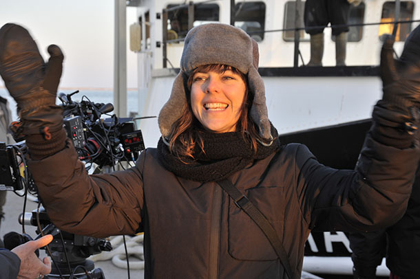 Sophie Deraspe, réalisatrice et scénariste. Photo Marc Robert
