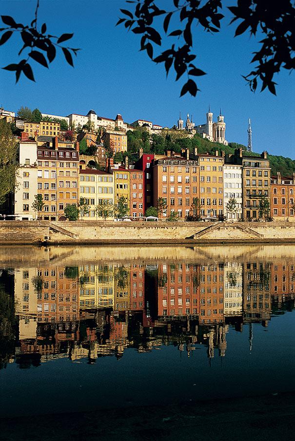 Quais depuis la Saône. Photo, Tristan Deschamps / Lyon tourisme et congrès