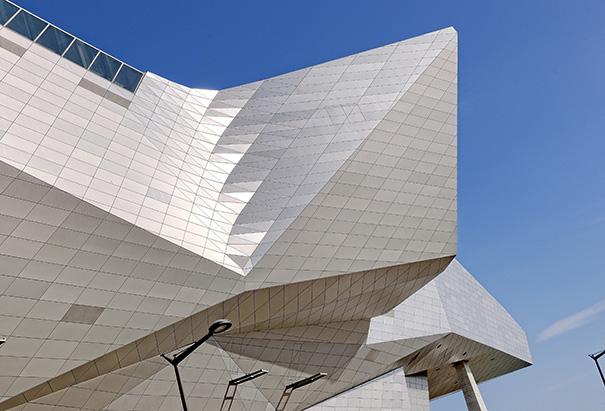 Le Musée des confluences. Photo, Quentin Lafont