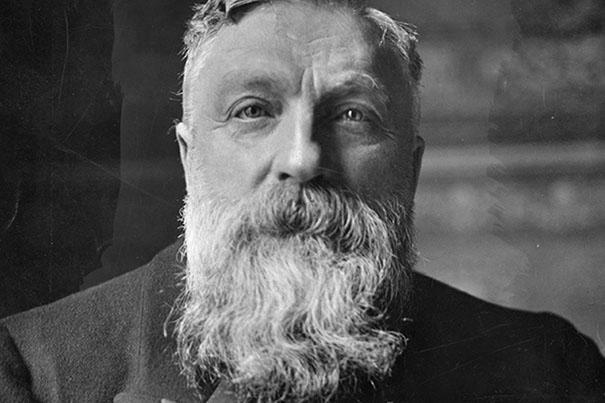 Auguste Rodin (né à Paris le 12 novembre 1840 et mort à Meudon le 17 novembre 1917)