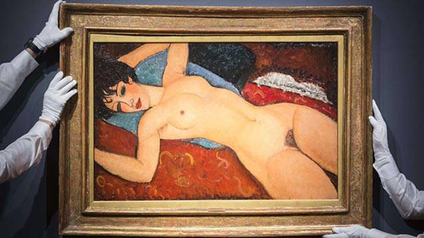 Amadeo Modigliani, Nu couché