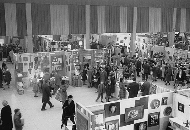 Le Salon des Métiers d'art édition 1965