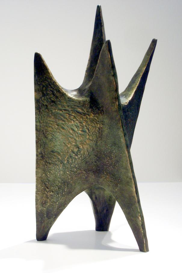 Citadelle lunaire, bronze, 1960