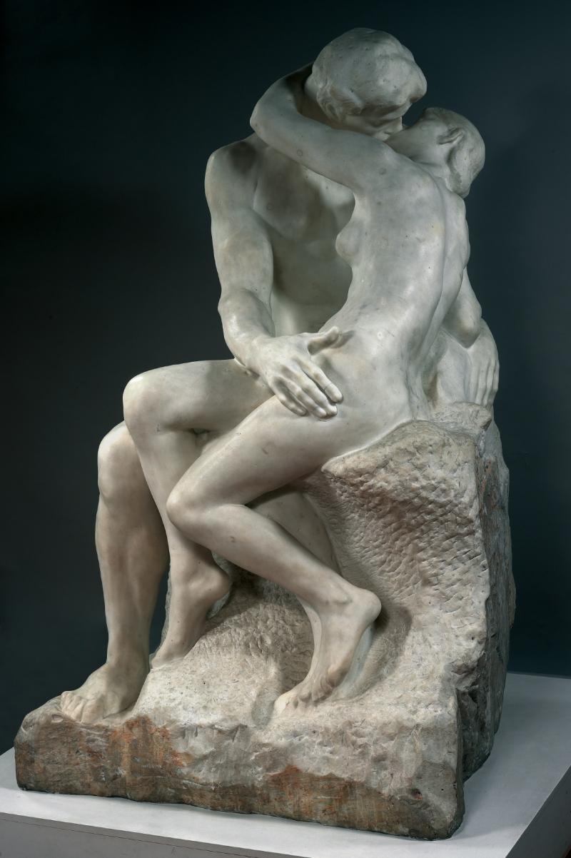 Rodin, Le baiser, 1889