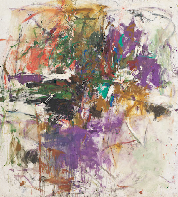 Joan Mitchell, Sans titre, 1961. Huile sur toile, 228,9 × 206,1 cm. Joan Mitchell Foundation, New York © Estate of Joan Mitchell. Photo : Joan Mitchell Foundation, New York Joan Mitchell, Untitled, 1961. Oil on canvas, 228.9 × 206.1 cm. Joan Mitchell Foundation, New York © Estate of Joan Mitchell. Photo: Joan Mitchell Foundation, New York