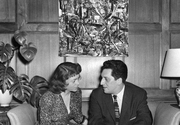 Joan Mitchell et Jean Paul Riopelle