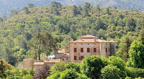 Le chateau de Vauvenargues, propriete de Picasso et ou il est enterre avec sa femme Jacqueline