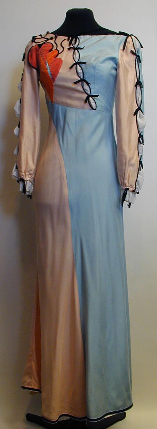 Costume de la robe de Viola pour la production de La nuit des rois (1968).