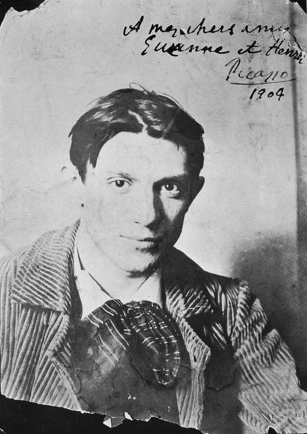 Pablo Picasso en 1904