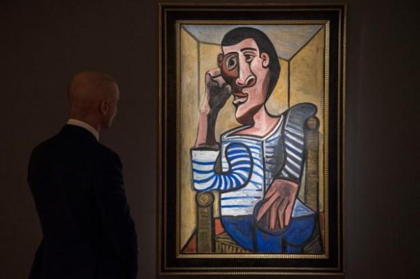 Picasso, Le marin, 1943