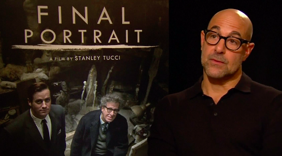 Le réalisateur de, Le portrait final, Stanley Tucci
