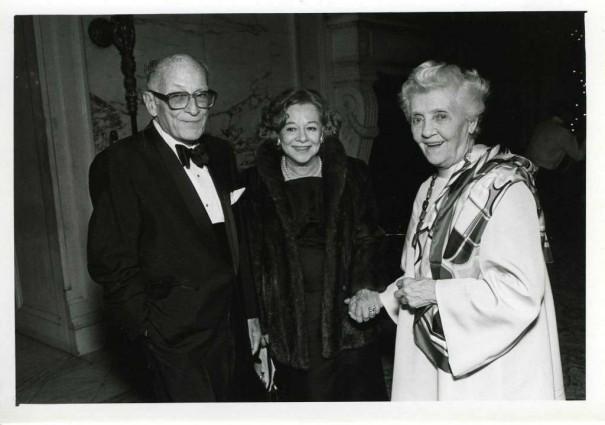 """Ernest """"Pick"""" S. Heller, et Rose """"Red"""" F. Heller. La dame du centre est inconnue"""