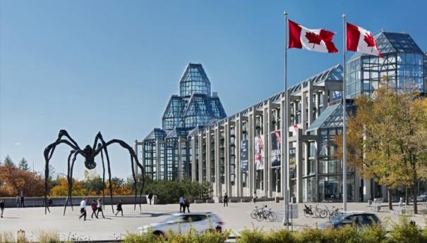 Le Musée des beaux-arts du Canada, à Ottawa