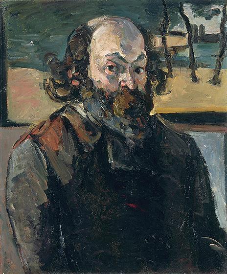 Paul Cézanne, Autoportrait , c. 1875, huile sur toile, Musée d'Orsay, Paris, Don de Jacques Laroche, 1947, © RMN-Grand Palais (Musée d'Orsay) / Hervé Lewandowski