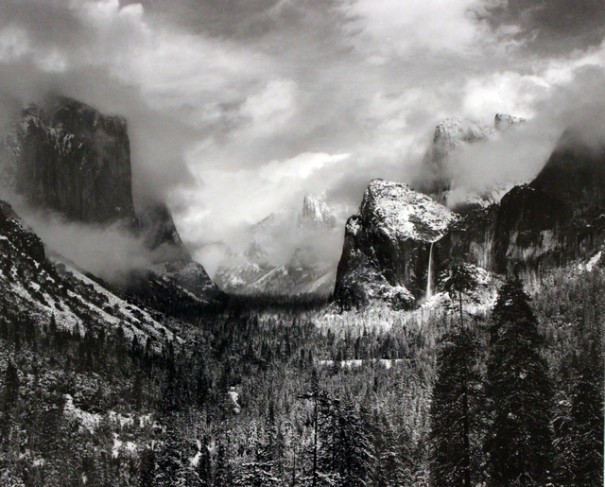 Ansel Adams, tempête hivernale, parc national de Yosemite, Californie (1938). Estimation: 60 000-80 000 $ (US).