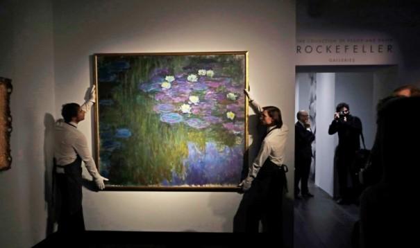 Claude Monet, Les Nymphéas en fleur