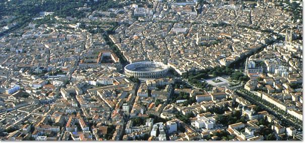 Le Centre-ville de Nîmes