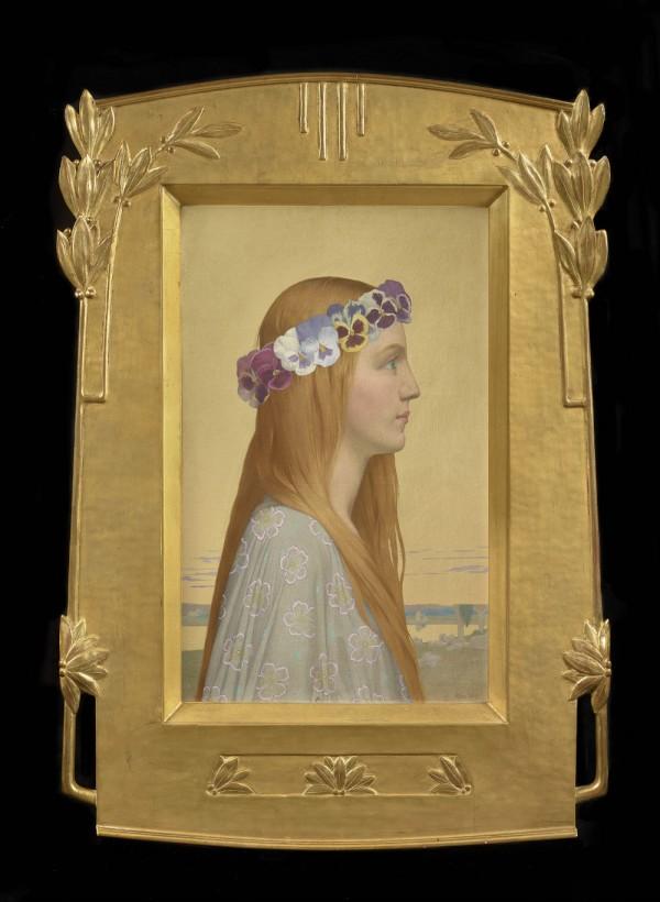 Alexandre Séon (1855-1917) : « La Pensée », vers 1898