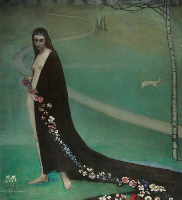 Romaine Brooks (1874-1970) : « Le Printemps », 1911-1913