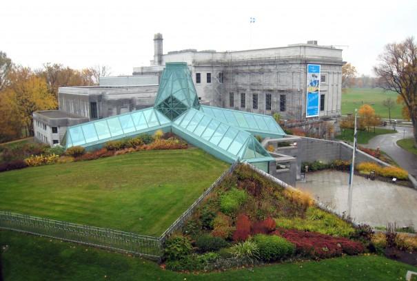 Le premier agrandissement inauguré en 1991