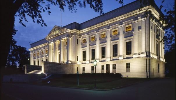 Le pavillon Gérard-Morrisset, l'édifice d'origine inauguré en 1933
