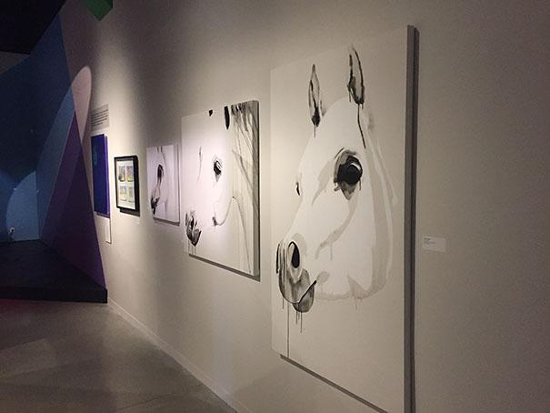 Les oeuvres de Brigitte Lafleur