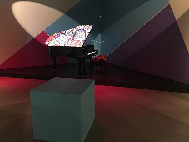 L'installation de Diane Dufresne et de Richard Langevin