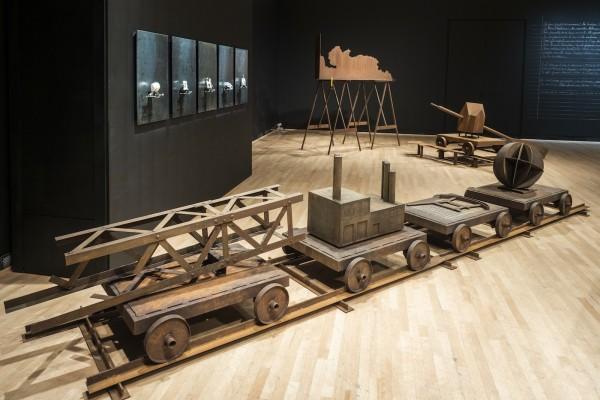 Pierre Leblanc à la Galerie du centre culturel